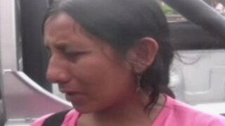 Ica: detienen a mujer que agredió salvajemente a su hija de año y medio