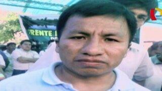 Pichanaki: dirigente que encabezó protesta fue principal coordinador del 'Andahuaylazo'