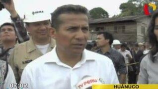 Presidente Ollanta Humala asegura que diálogo nacional tuvo buen inicio