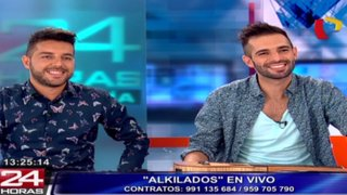 Grupo colombiano 'Alkilados' llegó al Perú para ofrecer conciertos