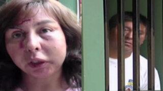 Mujer golpeada salvajemente por su esposo en celebración por San Valentín