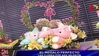 Conozca las novedades en arreglos florales para el Día de San Valentín