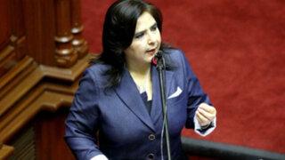La oposición insiste en censurar al Gabinete de Ana Jara
