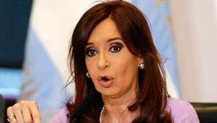 Argentina: imputan a expresidenta Cristina Fernández por lavado de dinero