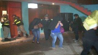 Intervienen ocho prostíbulos clandestinos en Arequipa