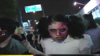 Virus zombie en Lima: fanáticos se caracterizan como sus personajes favoritos