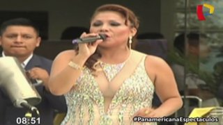 Marisol cautivó con espectacular concierto en programa de Andrés Hurtado