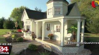 Impresionantes casa para niños causan sensación en Estados Unidos