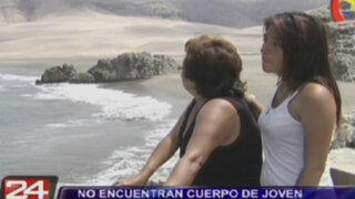 Familia de joven desaparecido en playa La Chira hace dramático pedido