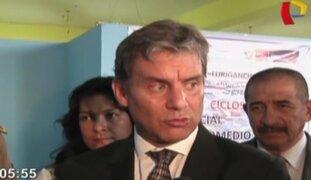 Ministro Daniel Figallo destacó labor del Gobierno en caso Pichanaki