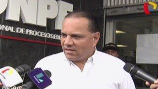 Mauricio Diez Canseco recibió kit electoral para inscribir su partido