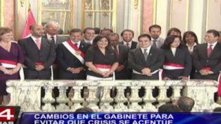 Juramentaron nuevos ministros del Interior, Justicia, Energía y Minas y de la Mujer
