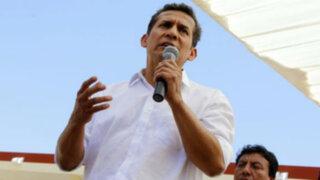 """Humala ante denuncia por aportes del 2011: """"Cuentas del partido están en orden"""""""
