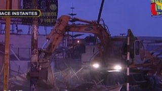 Ate: desalojan 15 puestos informales en la Carretera Central