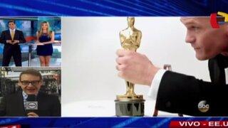 Así son los preparativos para la entrega de los premios Oscar 2015