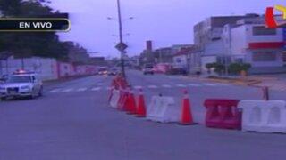 Cerrarán avenida Pista Nueva por obras del intercambio vial Benavides