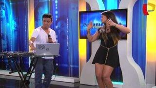 DJ Bryan Flow hizo bailar a Georgette Cárdenas a ritmo de 'La casa sola'