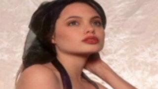 Espectáculo internacional: difunden fotos de Angelina Jolie a los 16 años
