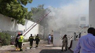 Ataque suicida contra hotel deja 25 muertos y 40 heridos en Somalia