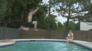 Los accidentes más graciosos en las piscinas