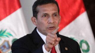 Reforma electoral: Humala insta al Congreso a eliminar voto preferencial