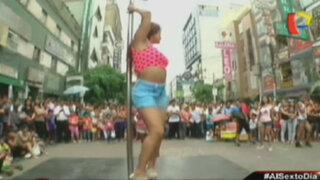 El reto del Pole Dance: El lado más atrevido de limeños y limeñas en las calles