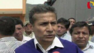 Presidente Humala espera respuesta chilena por presunto caso de espionaje