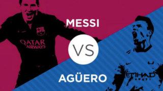 """Sergio Agüero le advierte a Lionel Messi: """"Dentro de la cancha no hay amigos"""""""