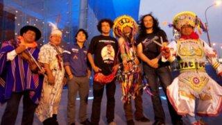 Música andina y rock mezcladas para una impresionante presentación