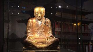 INÉDITO: Antigua estatua budista tenía un ser humano en su interior