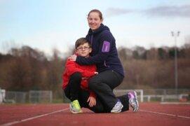Niño más veloz del mundo rompió récord de atletismo en el Reino Unido