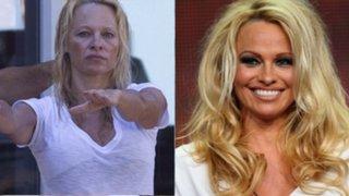 Sorprendente: 18 famosas de Hollywood antes y después de utilizar maquillaje