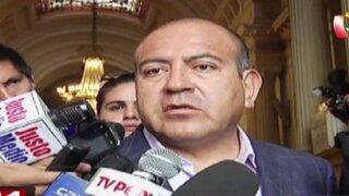 Juan Carlos Rivera Ydrogo asistió a comisión Belaunde Lossio