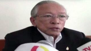 Humberto Lay anunció que postulará a la presidencia de la República en 2016