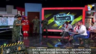 Batería High School: conozca los beneficios del Servicio Militar Voluntario