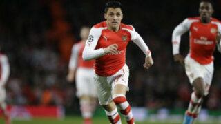 Champions League: Arsenal cayó 3-1 ante Mónaco en Inglaterra