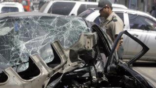 Sangre en las pistas: impactantes accidentes de tránsito ocurridos en Lima