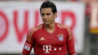 Bayern Munich: Claudio Pizarro dejaría el club por decisión de Pep Guardiola