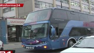 Informe 24: buses interprovinciales generan caos en Lima