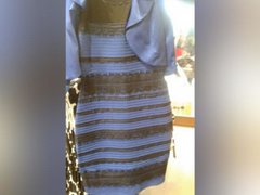 Este es el vestido que causa polémica en el mundo por sus colores