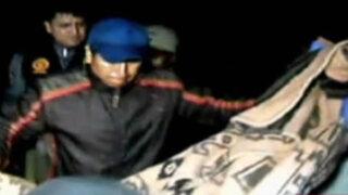 Huánuco: asesinan a chamán de ocho balazos