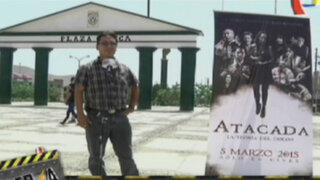 El entusiasmo en la gente por el estreno de la película Atacada