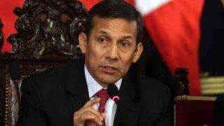 Aprobación de Ollanta Humala bajó 30% desde inicio de su gestión