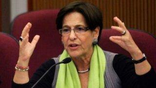 Susana Villarán se mostró indignada por acusaciones contra Nadine Heredia
