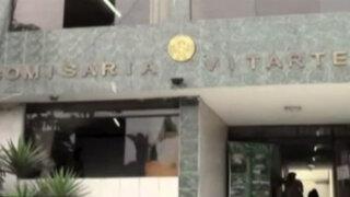 Ate: granada estalla en comisaría y deja un policía herido