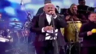 A ritmo de salsa Oscar de León cerró festival de Viña del Mar