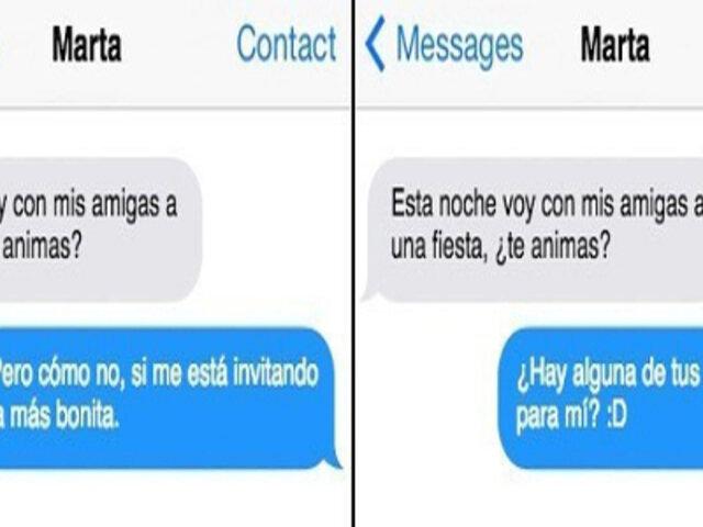 11 mensajes de WhatsApp que cambian totalmente cuando alguien no te gusta