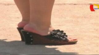 Cuide sus pies en verano: sepa cómo elegir un calzado adecuado