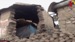 Cinco sismos de regular intensidad afectaron más de 30 casas en Arequipa