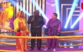 La 'gran pelea' del año: 'Chato Barraza y 'Melcochita' realizaron singular mano a mano